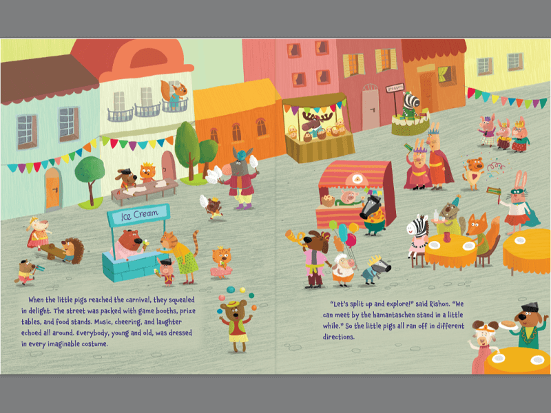 Fixed Layout ePUB3 - Children's Book