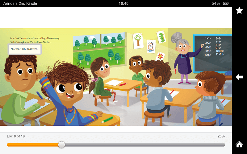 Kindle Fire 8 Fixed Layout - Children's Book2